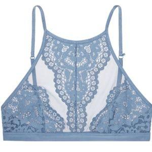 Victoria's Secret Lace High-neck Halter Bralette